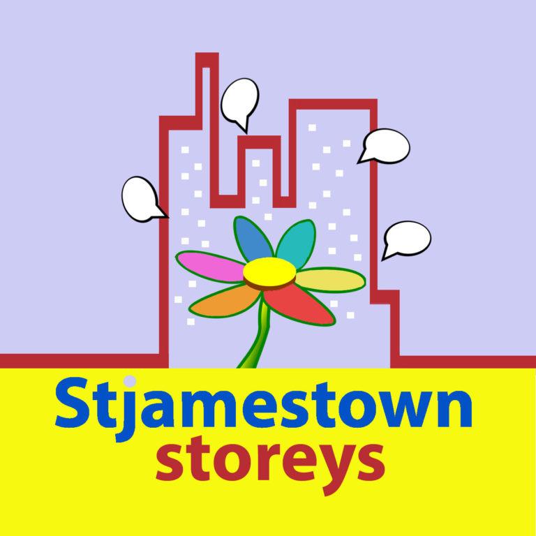 St James Town Storeys Podcast Logo
