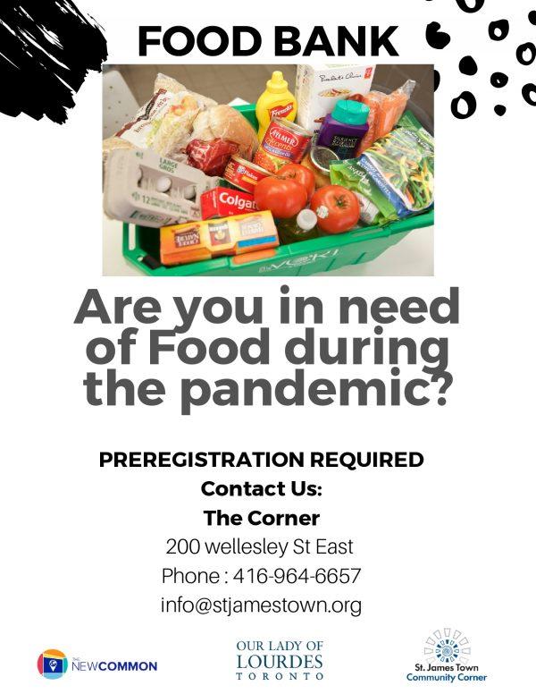 photo of foodbank poster
